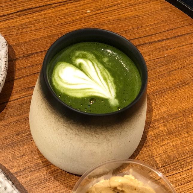 Matcha Latte ($5.90)