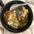 Light & Healthy Salmon Soba Bowl In CBD! ($14.90)