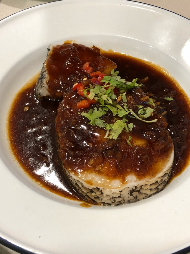 Steamed Cod Fish ($19)