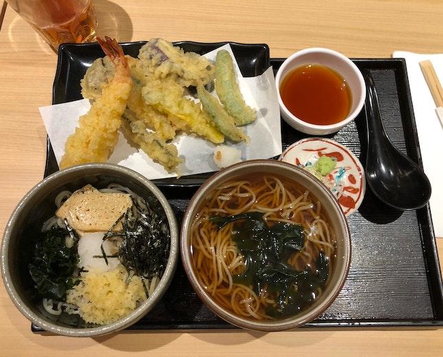 Shimbashi Combination Soba ($21.80 + $2)