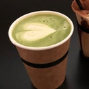 Matcha Latte (Hot, Large, $7)