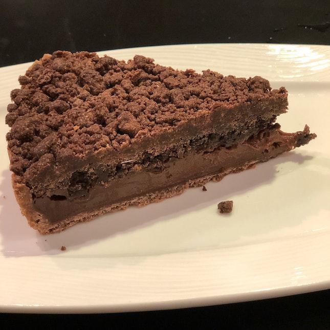 Dark Chocolate Ganache Tart ($6.50)