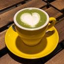 Matcha Latte (Hot, $6)