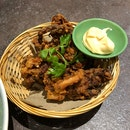Squid Tentacle Fritters ($11)