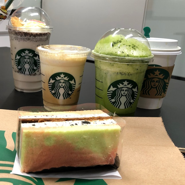 New Drinks, Desserts And Food At Starbucks For National Day!