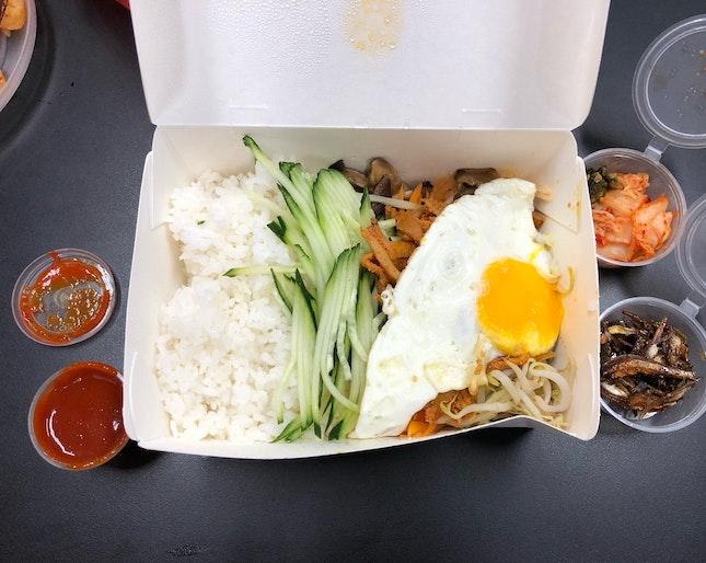 Bibimbap With Bulgogi Chicken