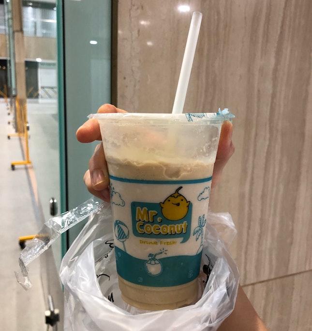 Coconut Cappuccino Shake