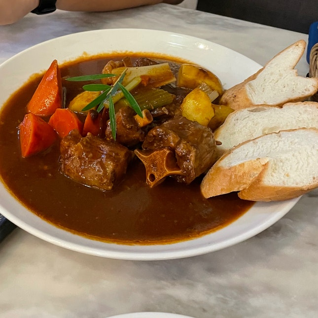 Great Oxtail Stew In Singapore