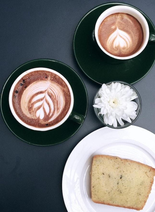 Mocha (MYR13) | Piccolo Latte (MYR9) | Lemon Thyme Cake (MYR 7)
