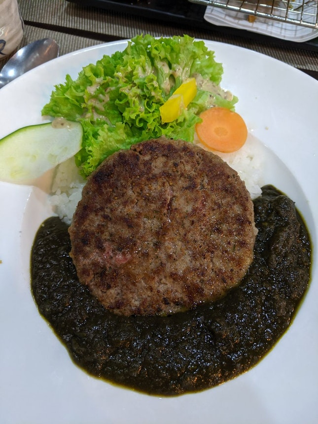 Black Curry + Hamburg