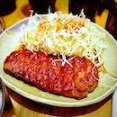 Gyu Teriyaki Set (S$18++) || Akashi Japanese Restaurant .