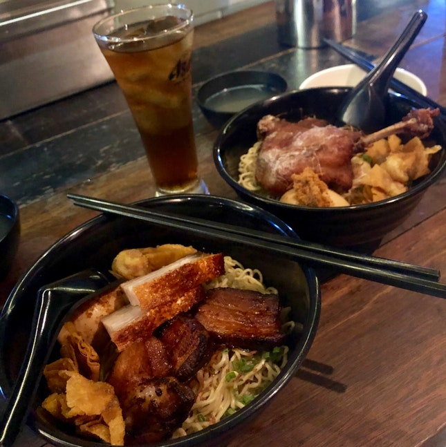 Twosome Noodles + Balinese Duck Noodles