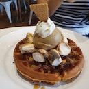 Smores Waffle