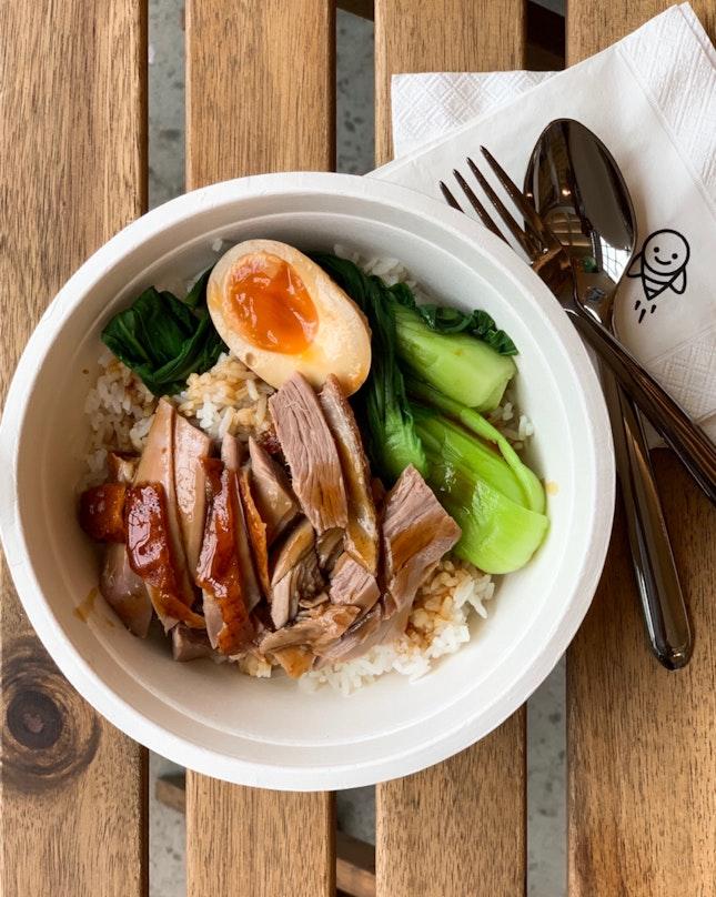 Roast Duck Rice [~$8]