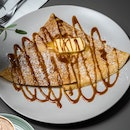 Burnt Caramel Crepe [~$14]