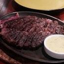 Juicy Slab Of Beef Steak 😍