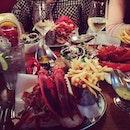 Burgers and Lobsters with Loke & Ariel #yum #yumz  #foodporn  #lobster #burp