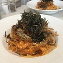Chili Soft Shell Crab Pasta