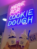 1 For 1 Cookie Dough Scoops With Soft Serve