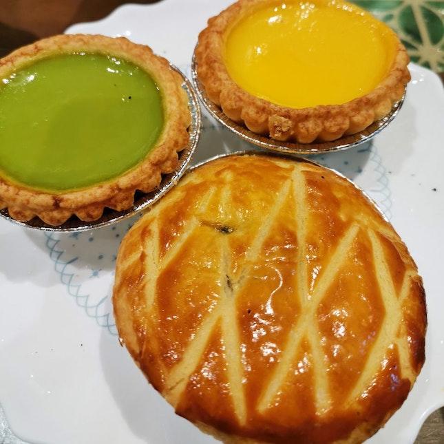 Egg Tarts and Chicken Pie