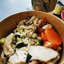 Roast Chicken and Quinoa Bowl