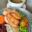 Miso Salmon Grain Bowl
