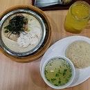 Sesame chicken rice