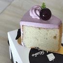 【Japan Kyoho Grape Chiffon】Interesting combination of kyoho grape and chiffon cake..