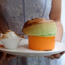 Pandan Soufflé With Ice Cream ($13.90)
