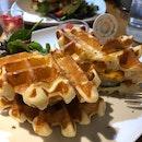 Chilli Cheese Chicken Waffle