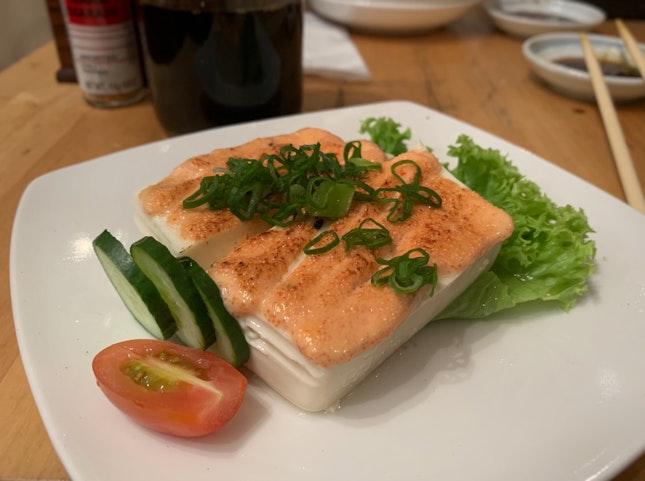 Mentaiko Tofu ($6)