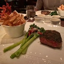 Sirloin Steak with Broccolini