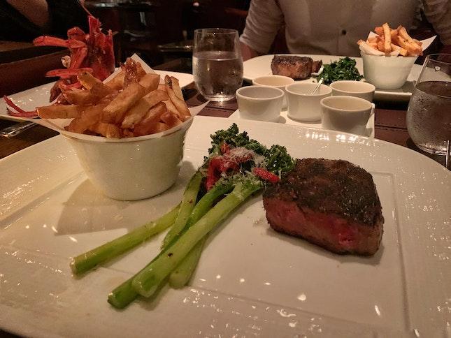 Sirloin Steak with Broccolini