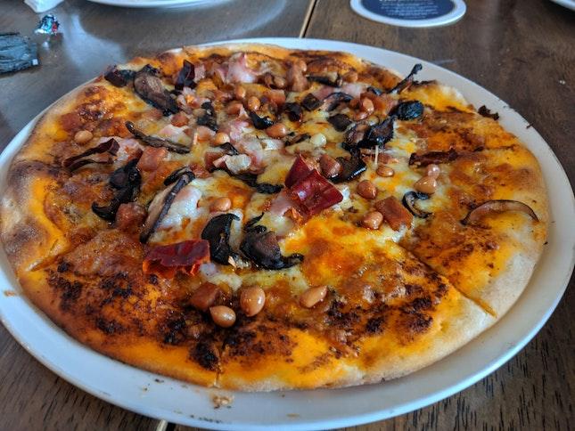 Mala Madness Pizza