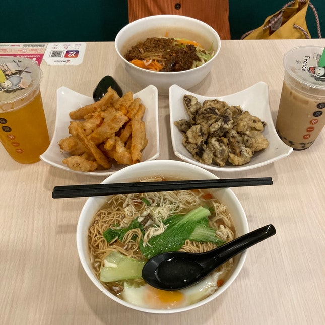 1-for-1 Set (Main + Snack + Drink) ($17.70)
