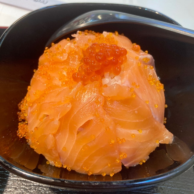 Salmon Ikura Don ($25 for 2 Dons)