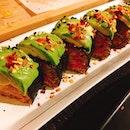 Avocado Kimchi Roll