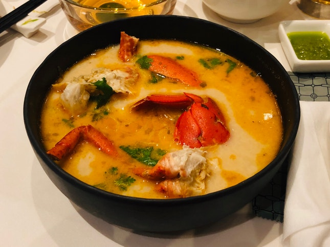 Lobster Bisque Tang Hoon