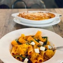 Roasted Pumpkin Rigatoni