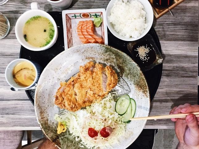 Set Meal Tonkatsu