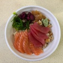 Salmon Tuna Bowl