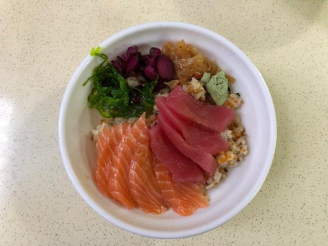 Salmon Tuna Bowl