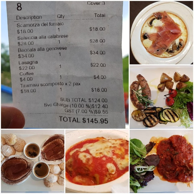 Restaurant Hopping  -- Italian Cuisine