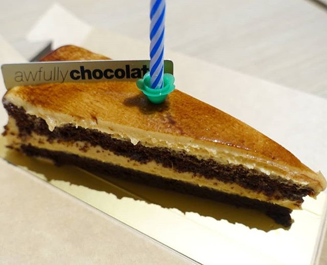 Peanut butter chocolate cake.
