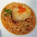 Baby Crayfish Spaghetti