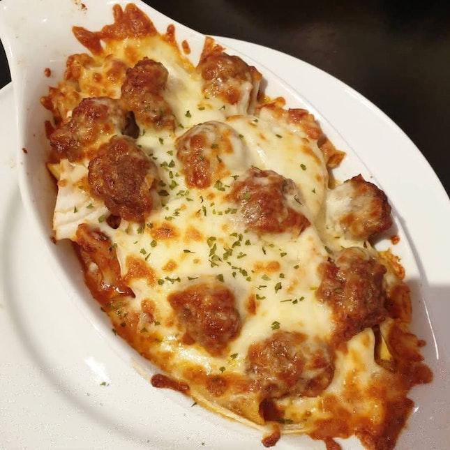 Italian Meatball Pasta
