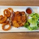 Cajun Grilled Chicken Chop