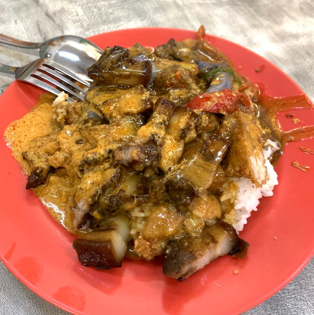 $4.30 Hainanese Curry Rice