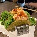 Lobster Mayo Sushi Taco