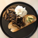 Poached Egg With Mushrooms